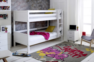 Nordic Bunk Bed 1 (grooved panels)