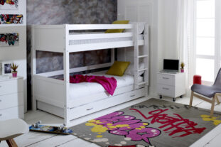 Nordic Bunk Bed 3 with Trundle Drawer
