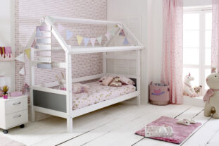 Nordic Playhouse Bed 1 (colour panels)