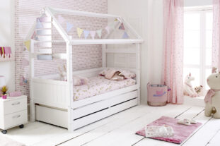 Nordic Playhouse Bed 3 with drawers