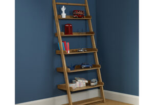 Hoxton Oak Stepped Shelving Unit