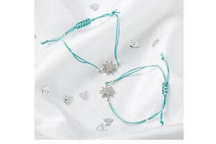 Mother & Daughter Star Bracelet Set - Jade