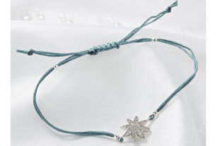 Star Friendship Bracelet - Grey
