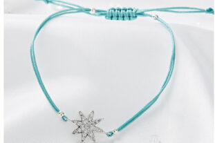 Star Friendship Bracelet - Jade