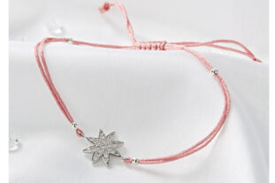 Star Friendship Bracelet - Pink