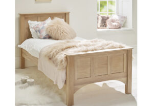 Woody Oak Single Bed