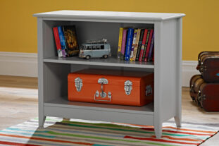 Jubilee Bookcase in Soft Grey