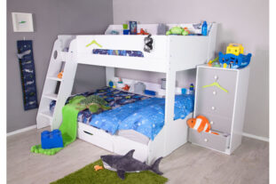 Flick Triple Bunk Bed - White