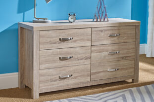 Stellar 6 Drawer Wide Chest