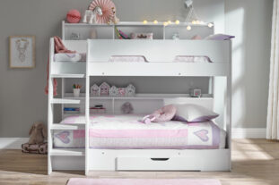 Stellar Bunk Bed in White