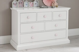 Candyfloss 6 Drawer Chest