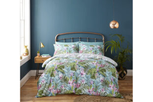 Tropical Leaf Single Duvet Set