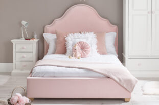 Bella Small Double Upholstered Bed
