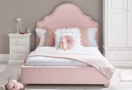 Bella Double Upholstered Bed