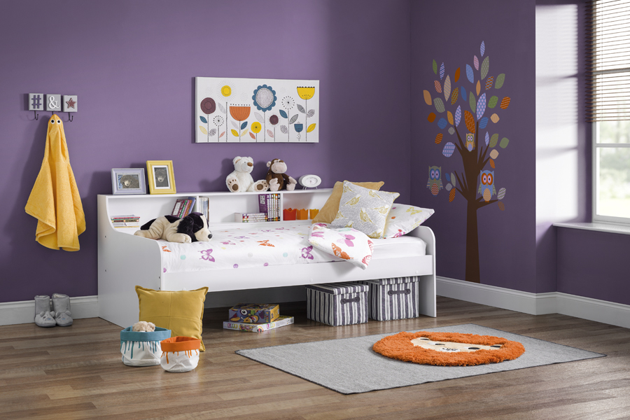 white day bed