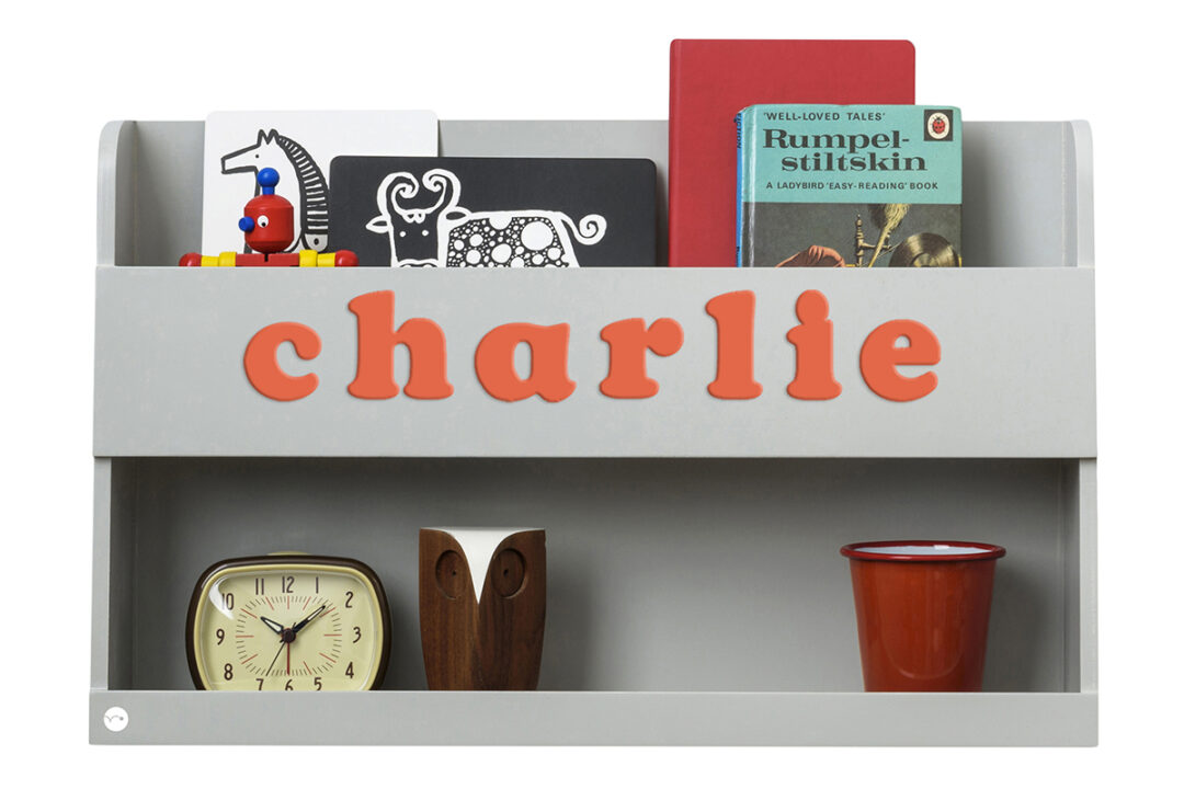 Personalised bunk bed buddy - Grey