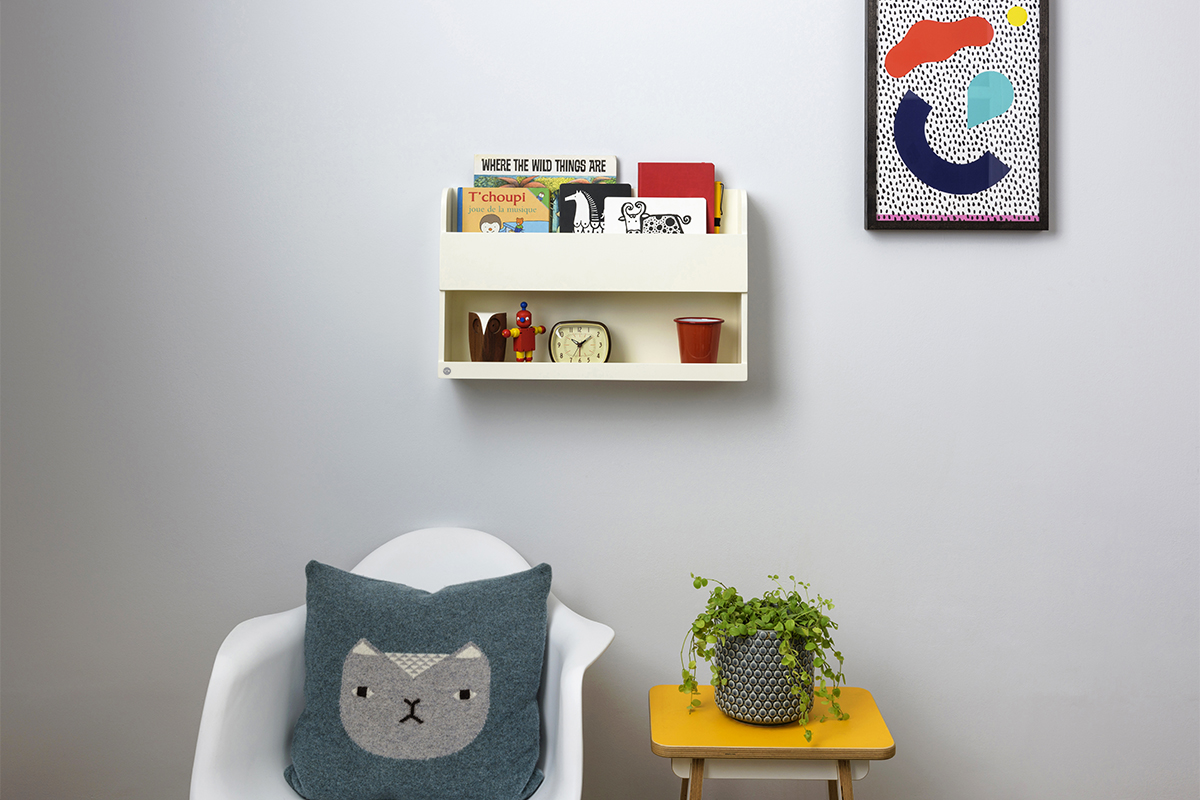 bunk bed buddy in soft white