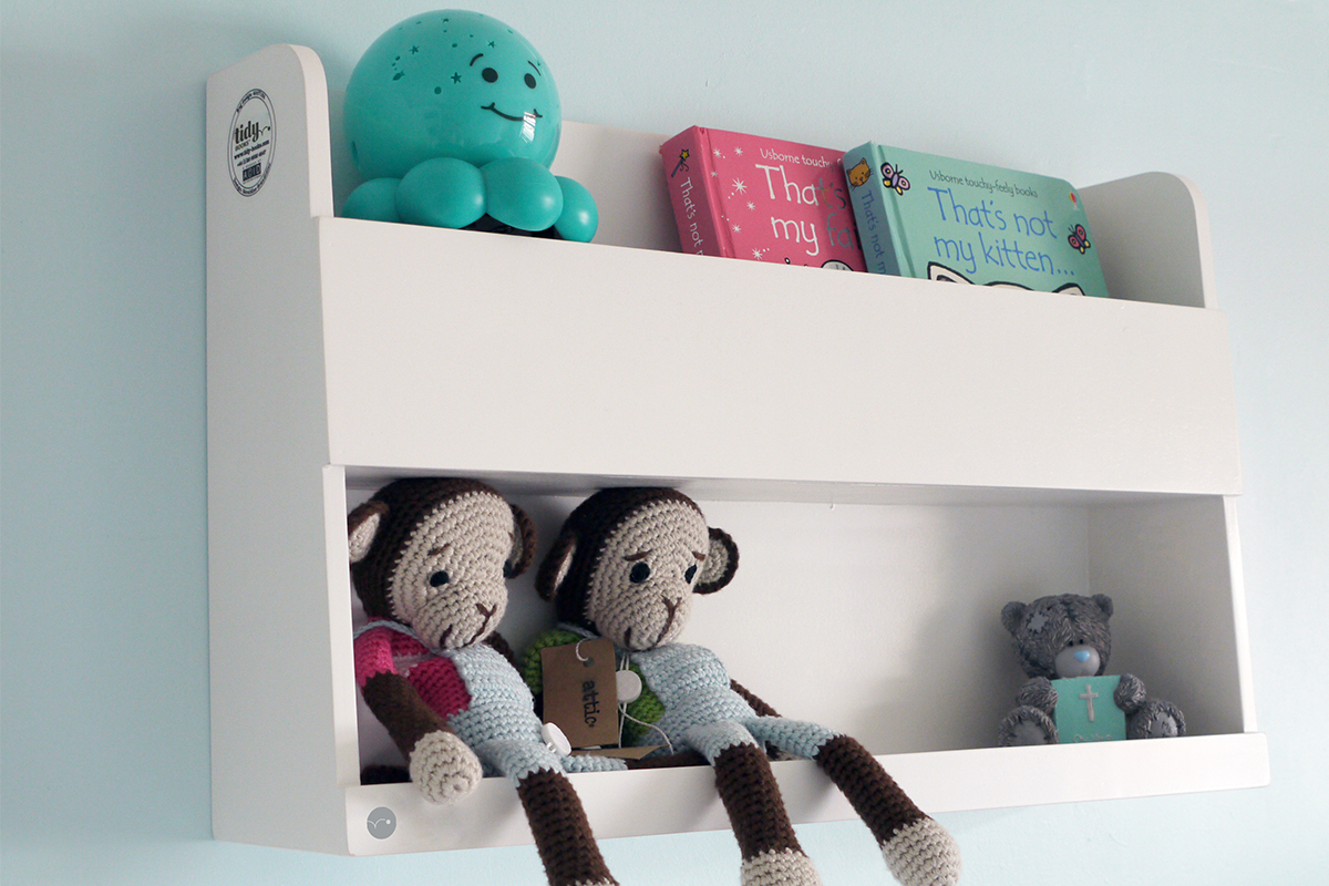 bunk bed buddy in white