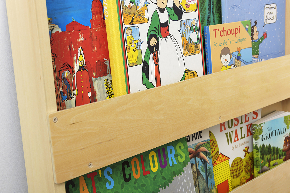 Open Bookcase Wood