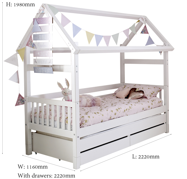 white house bed