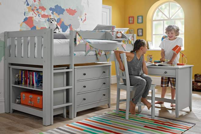 Children's Cabin Beds | Cabin Beds With Desk & Storage ...