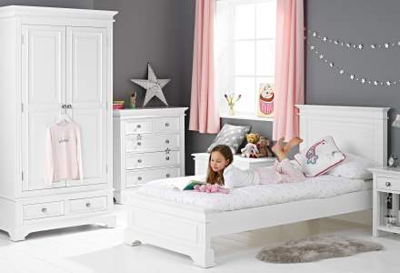 Girls' Single Low Beds