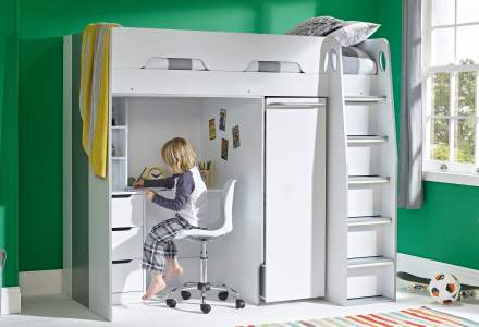 Kids Loft Beds Practical Children S Loft Beds With Desk Room To Grow