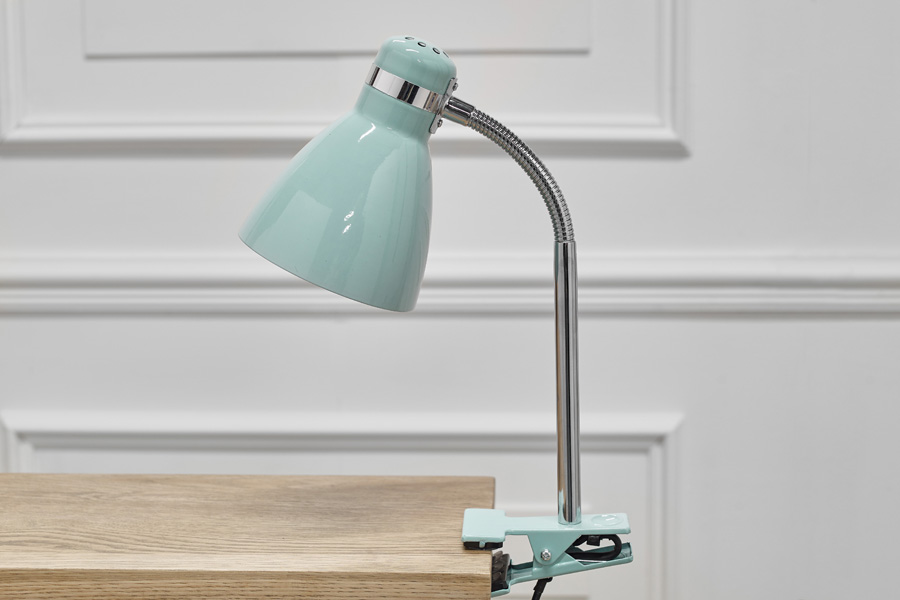 mint clipon light