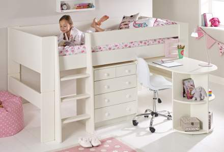 Girls Cabin Beds Room To Grow