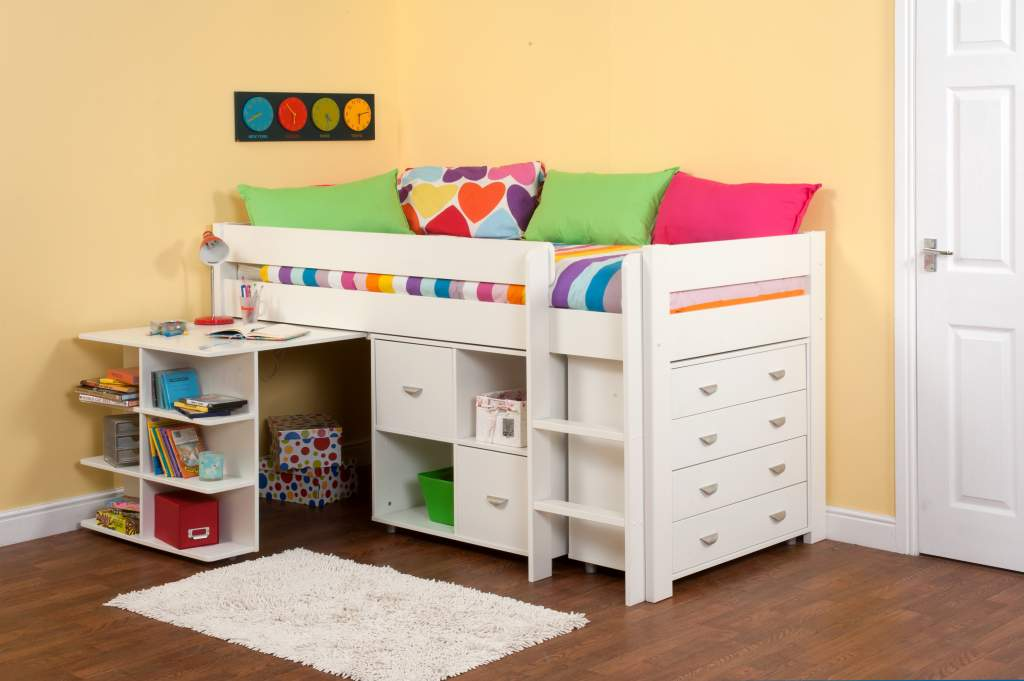 Are Cabin Beds The Solution For Small Bedrooms: Stompa Uno 3a - Cabin Bed