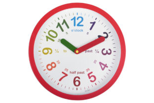 Lulu Teaching Wall Clock