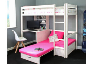 Thuka Hit 7 - Highsleeper with Desk & Chairbed