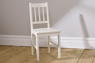 Jubilee Desk Chair - Ivory White