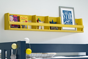Sammie Wall Shelf in Mustard
