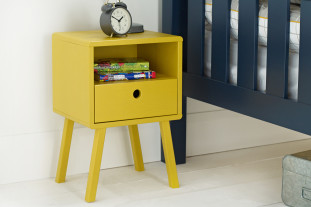 Sammie Nightstand in Mustard