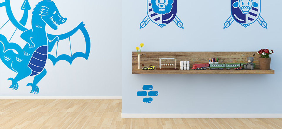 Wall Stickers Dragon