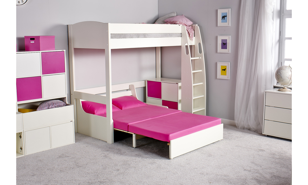 Brilliant Stompa Uno S 11 Highsleeper With Double Sofa Bed Bralicious Painted Fabric Chair Ideas Braliciousco