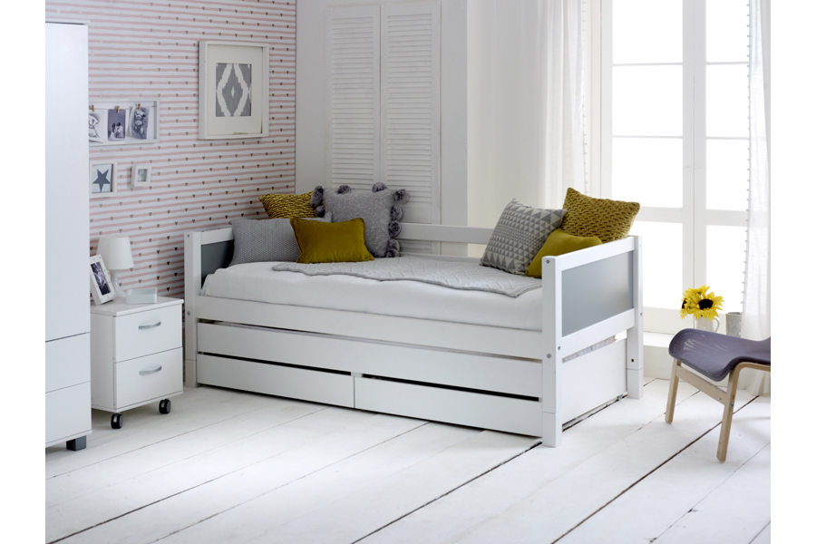 nordic day bed grey