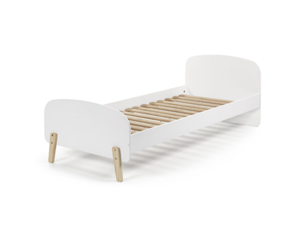 Sherbert Single bed in white cut out