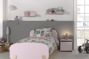 Sherbert Single Bed in Pink