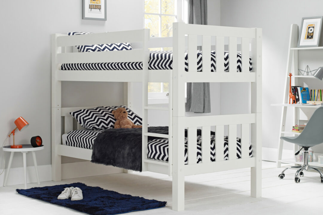 Jubilee Surf White Bunk Bed
