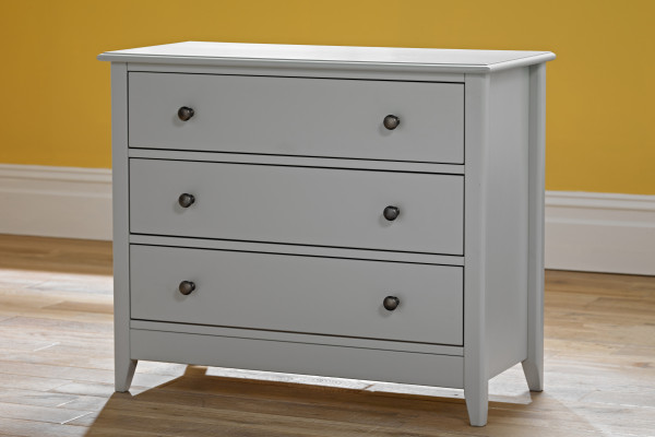 Jubilee 3 drawer chest metal handles