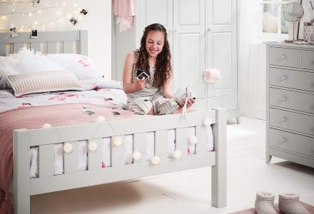Jubilee Double Bed grey