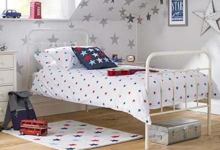 Starlight metal single bed