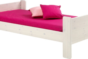 Solitaire whitewash single bed