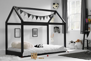 Maison Black House Bed