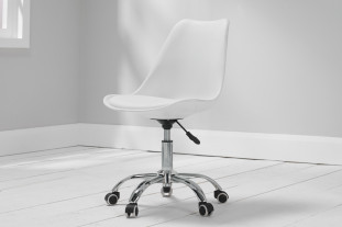 Nevada White Desk Chair