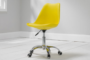 Navada Yellow Desk Chair