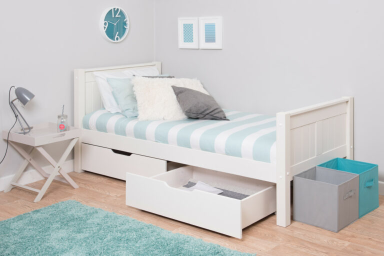 Classic Kids Single bed with drawers
