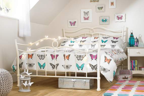 Butterfly double bed